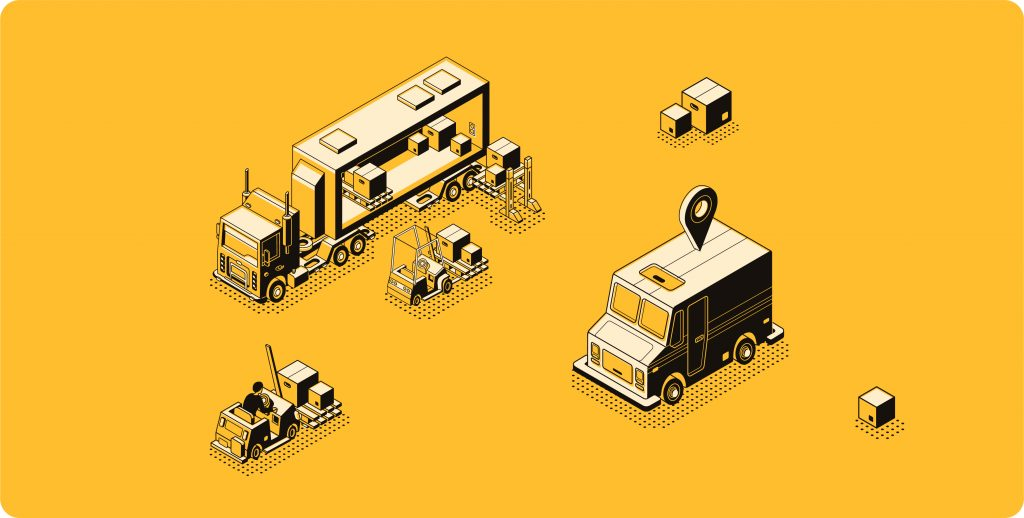 Internet of things in logistics