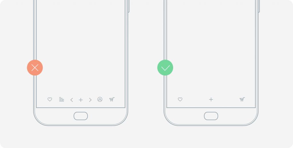 clear app design