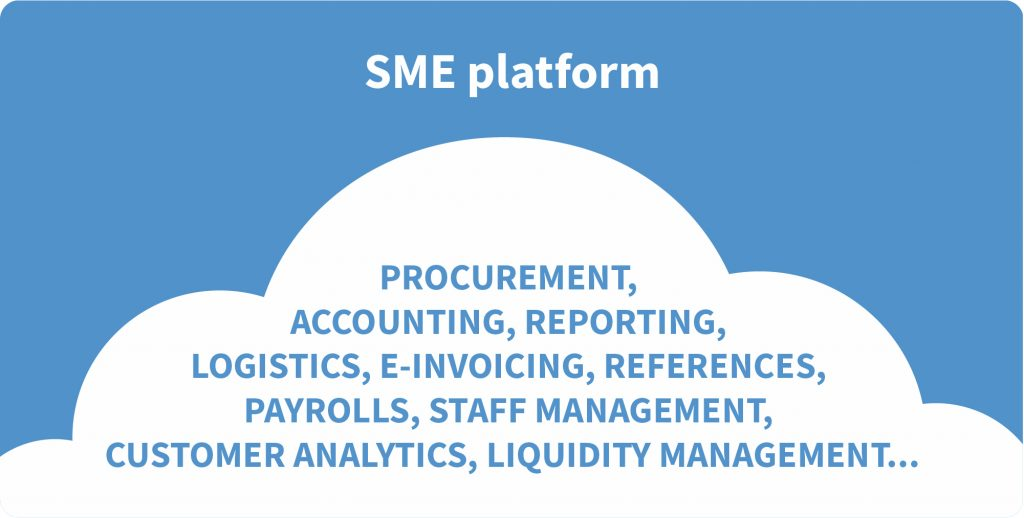 banking plafform development for small and medium enterprises