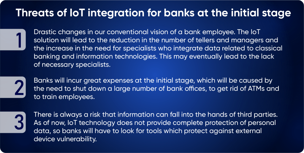 IoT integrating in finances