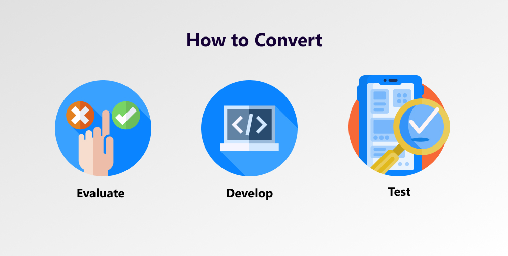 converting apps