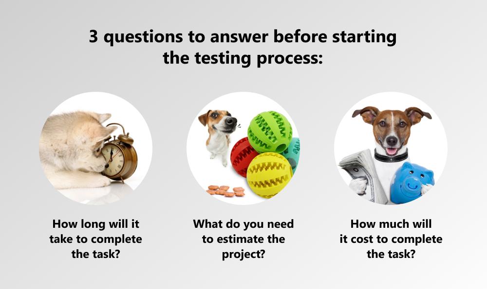 testing estimation