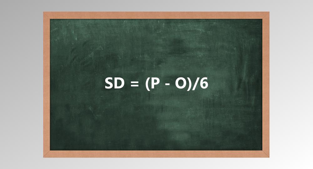deviation formula