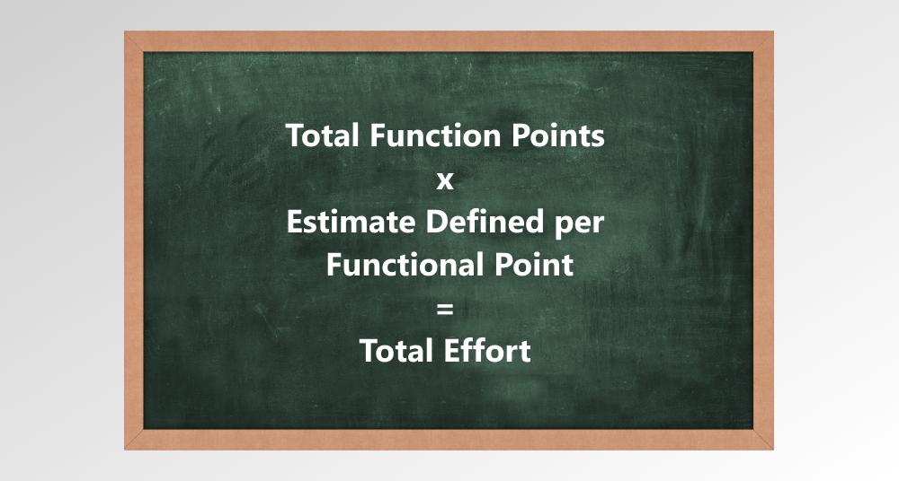 Total effort formula