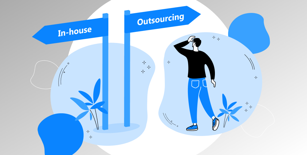 in-house vs outsourced