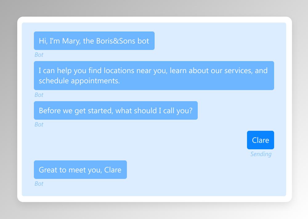 conversational interface