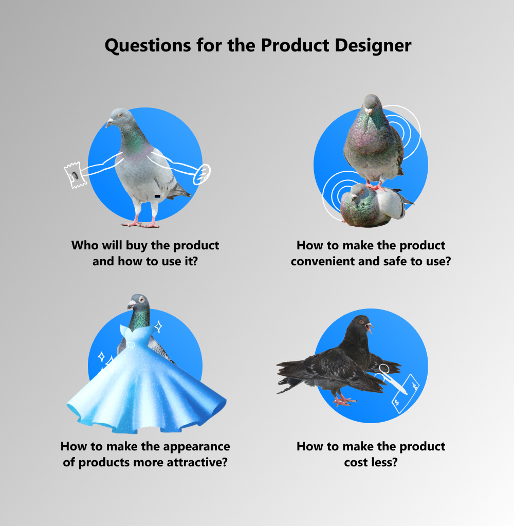 designer and a product