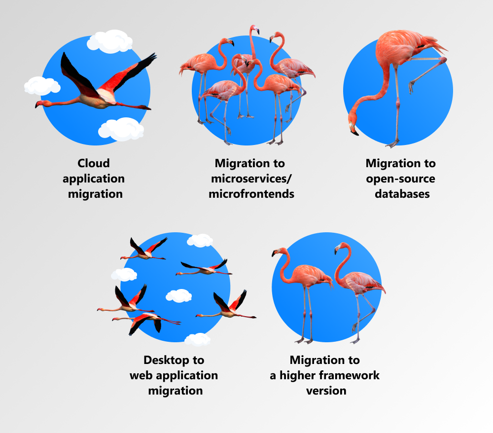 types of migrations