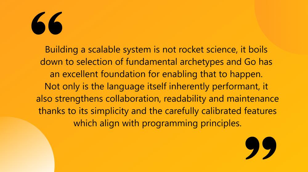 golang scalability